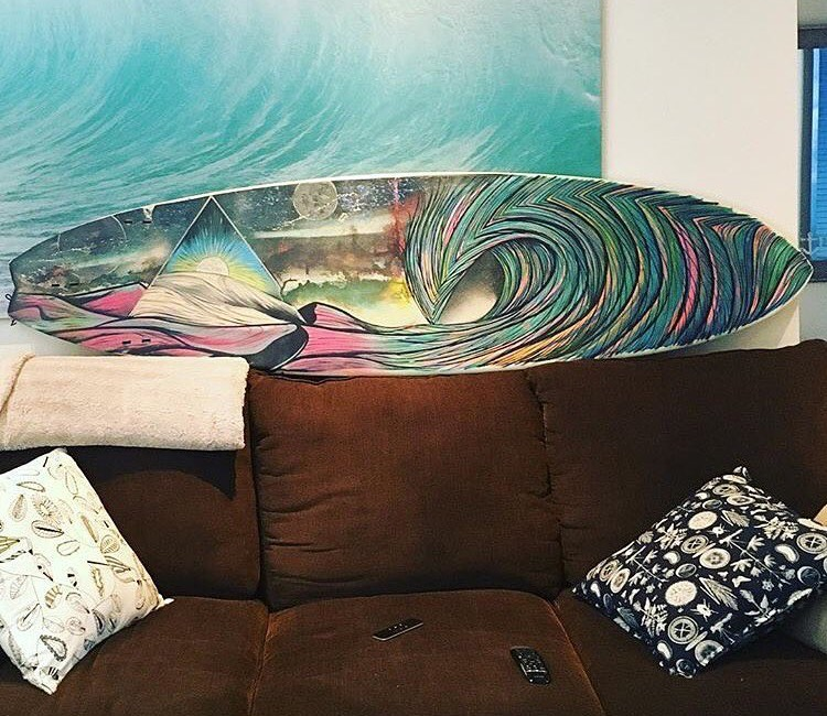 Cosmic Surfboard
