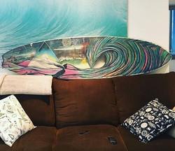 Cosmic Surfboard