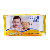 PASEO TISSUE BABY WIPES PILLOW BAG 10S.p