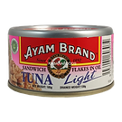 AYAM BRAND SANDWICH TUNA LIGHT FLAKES IN