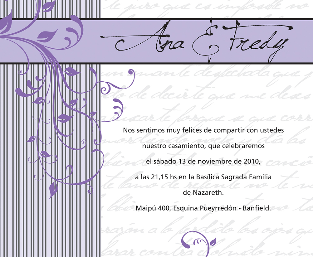 boda participacion