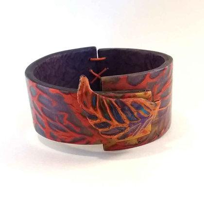 "Bracelet ""metallics"" orange"