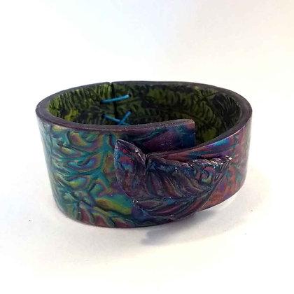 "Bracelet ""metallics"" turquoise"