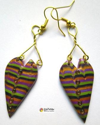 B.o. rayée multicolores