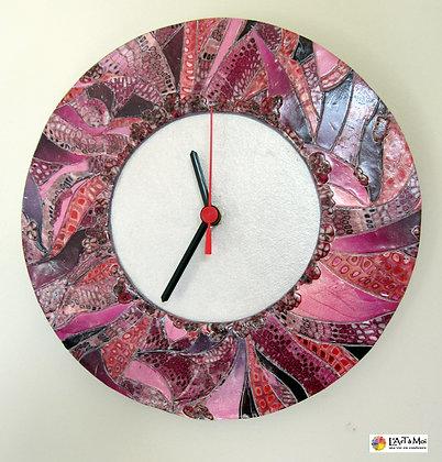 horloge rose