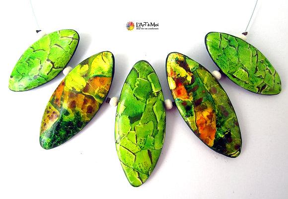 collier vert vif