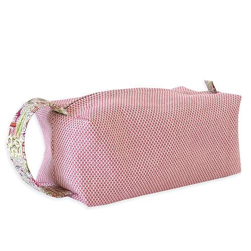 clutch piquet rosa