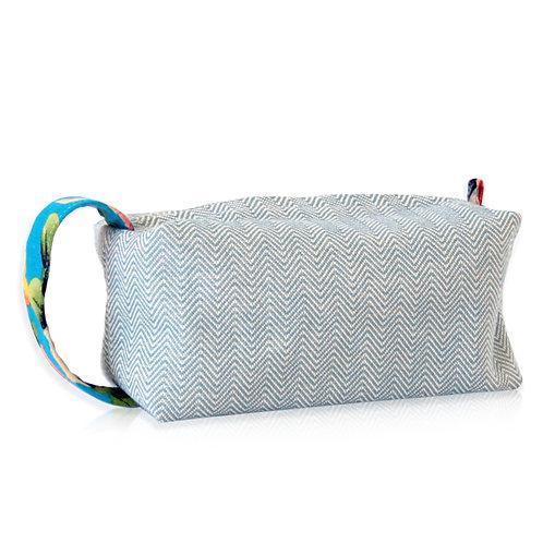 clutch espinhado blue