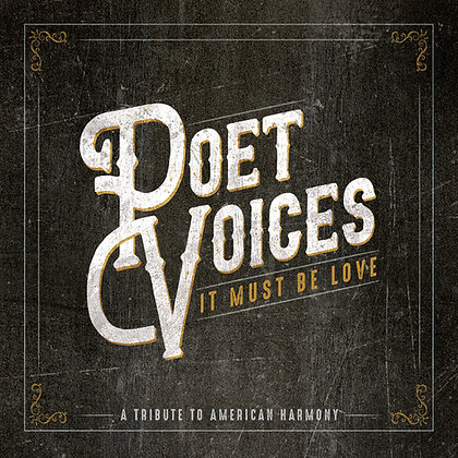 Poet Voices It Must Be Love CD