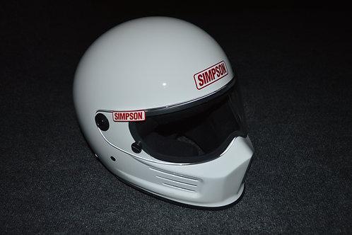 Bandit White Helmet
