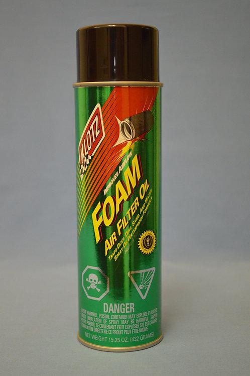 Spray Foam Filter Oil - 16oz