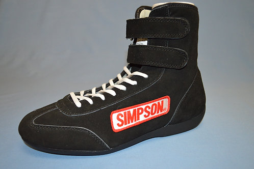 High Top Shoes (black, blue, red)