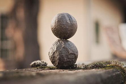 Pierres d'équilibrage