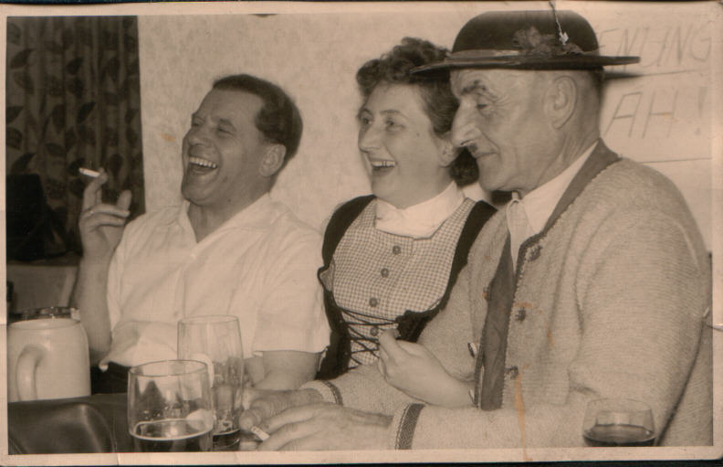 Oma and friends 1956