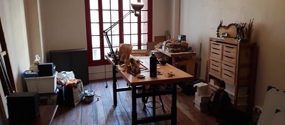 Installation de l'atelier