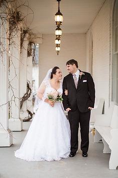 Carriage Lane Innn Wedding Couple
