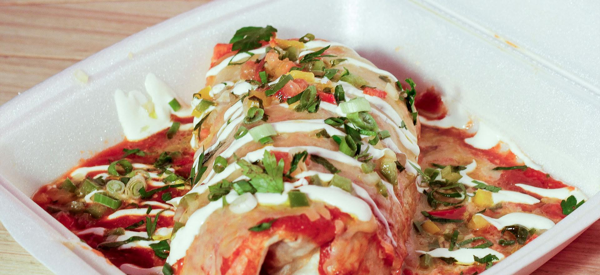 Mojado Burrito - Side View