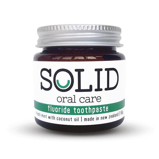 Fluoride Toothpaste Jar