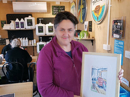 Titahi Bay Artist Claire Clark Donates a Post Lockdown Piece to Get Fixed