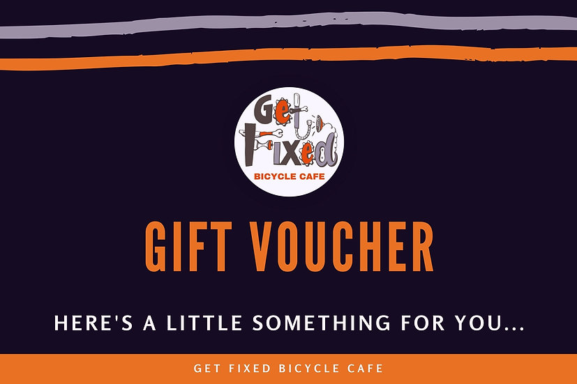 Get Fixed Bicycle Cafe Gift Voucher