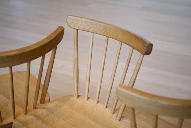 Classic wooden ercol chairs