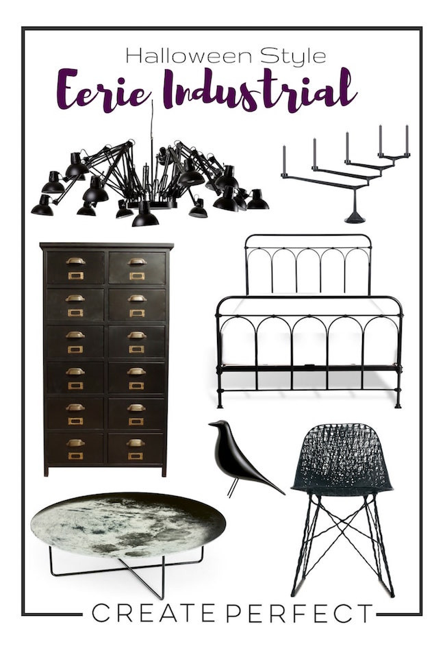 Industrial furniture moodpboard