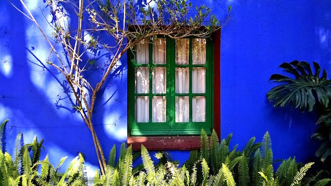 Casa Azul Window