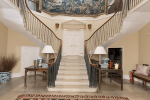 Grand country house staircase