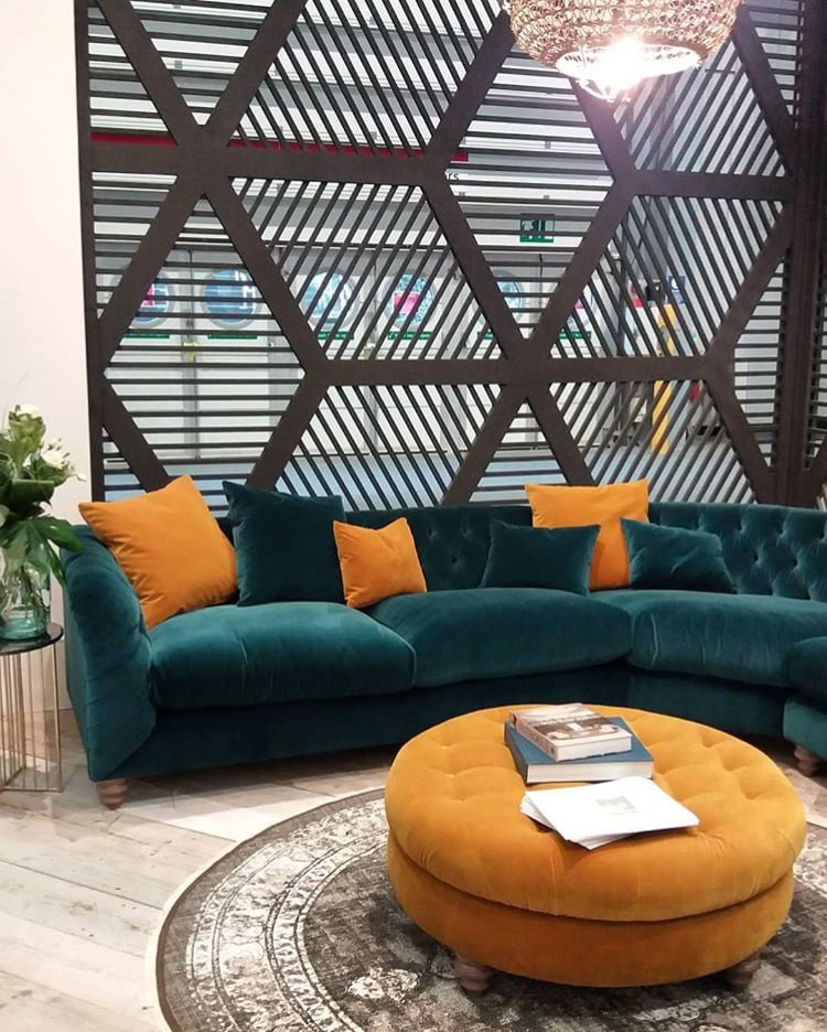 Tetrad Sofa at January Furniture Show