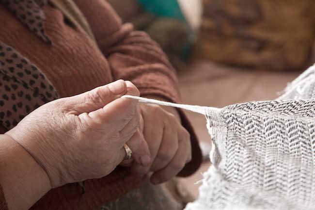 Hand made peshtemels