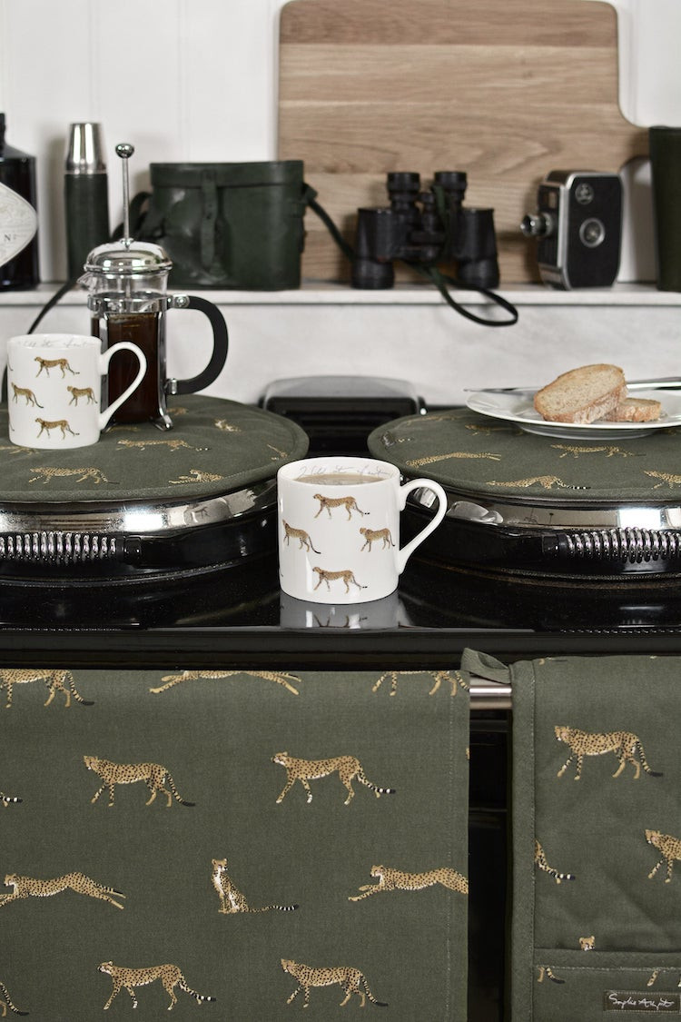 Cheetah Collection homewares from Sophie Allport