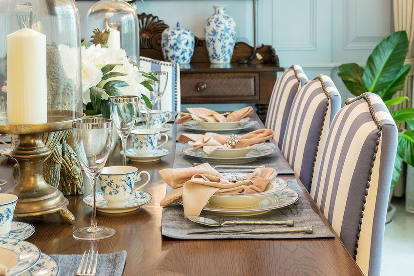 Elegant formal table