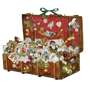 Traditional victorian style advent calendar