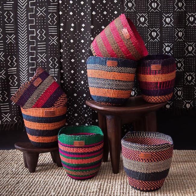 Lola and Mawu baskets