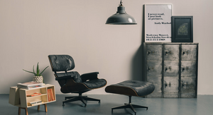 Eames lounge chair from Lovely and co