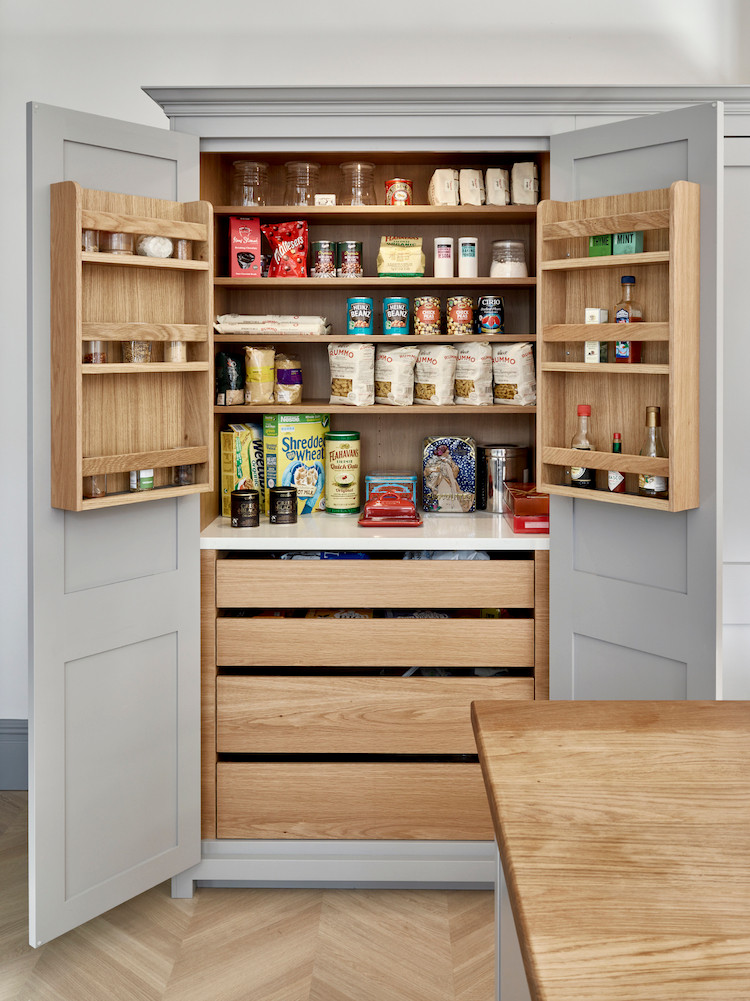 Kitchen pantry cupboard
