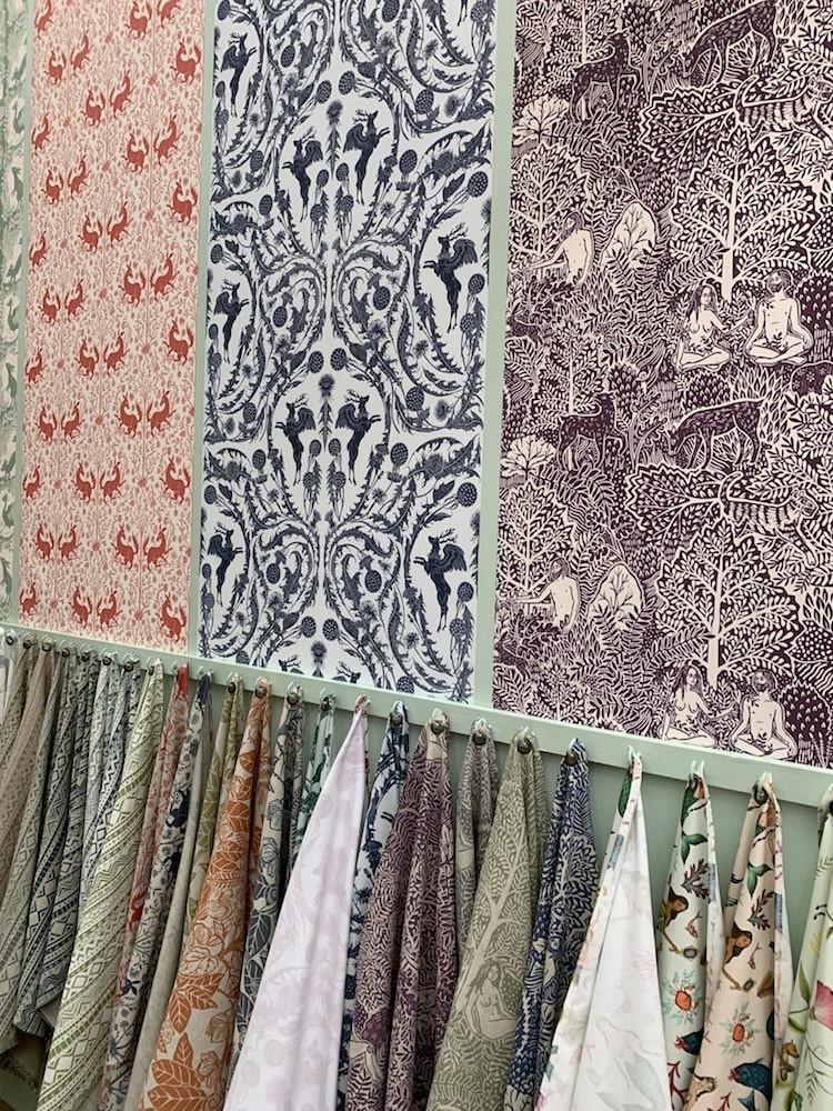 Cocoon home fabrics at Decorex