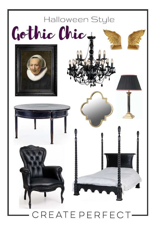 Gothic Furniture Moodpboard