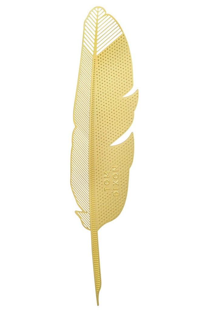 Tom Dixon gold bookmark