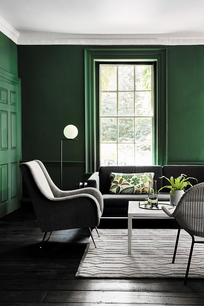 New Green colour card from Little Greene Paints
