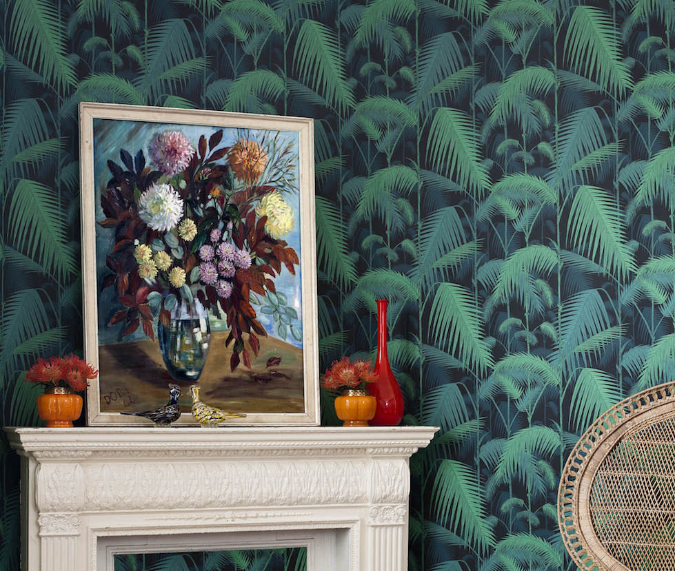 Tropical trends in wallpaper