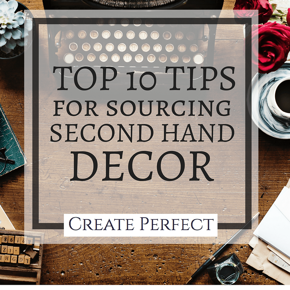 Second hand decor tips