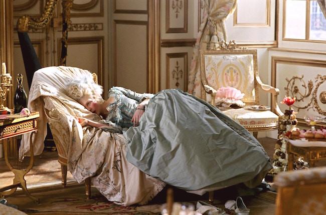 Marie Antoinette film interior design