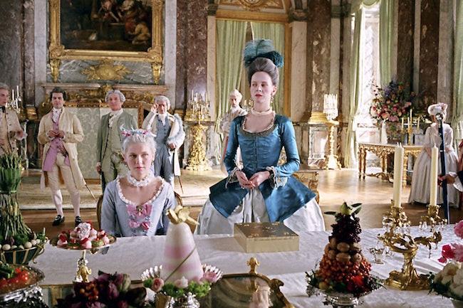 Versailles film interior design