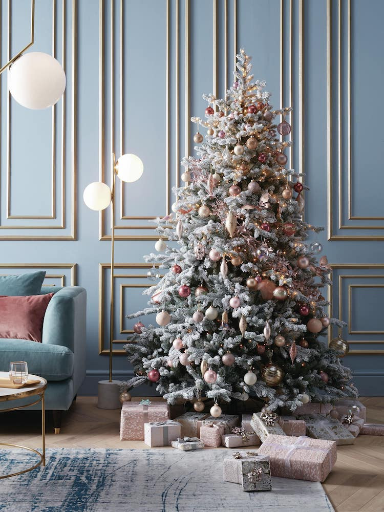 John Lewis Pink Christmas Tree