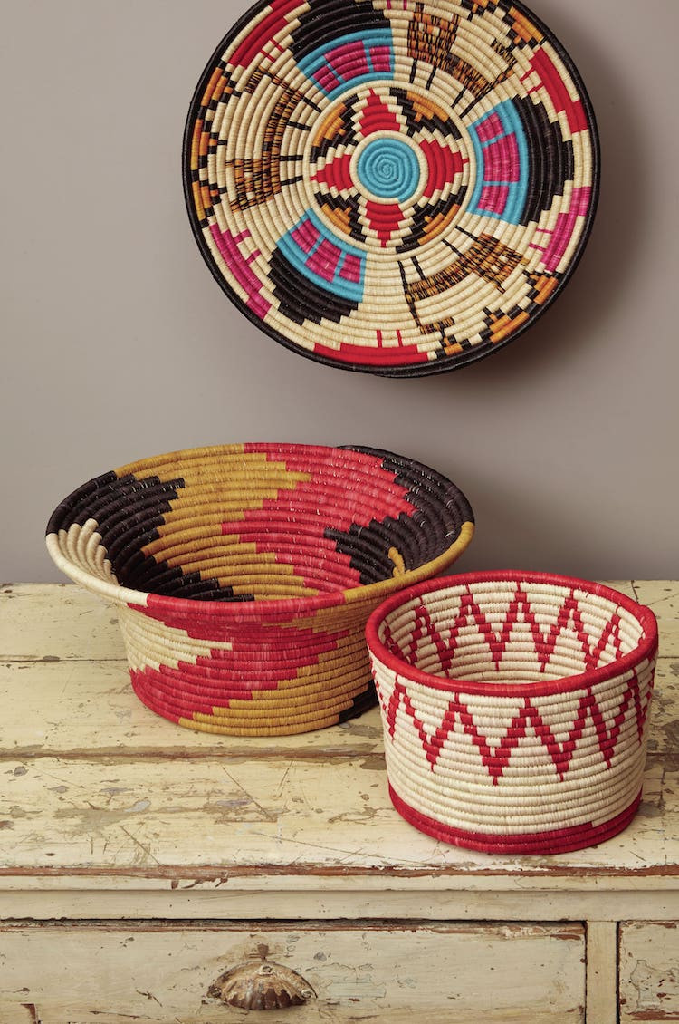 Rwenzori baskets from TK Maxx