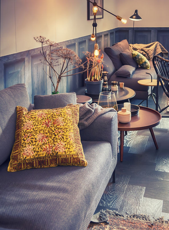 Autumn style interiors