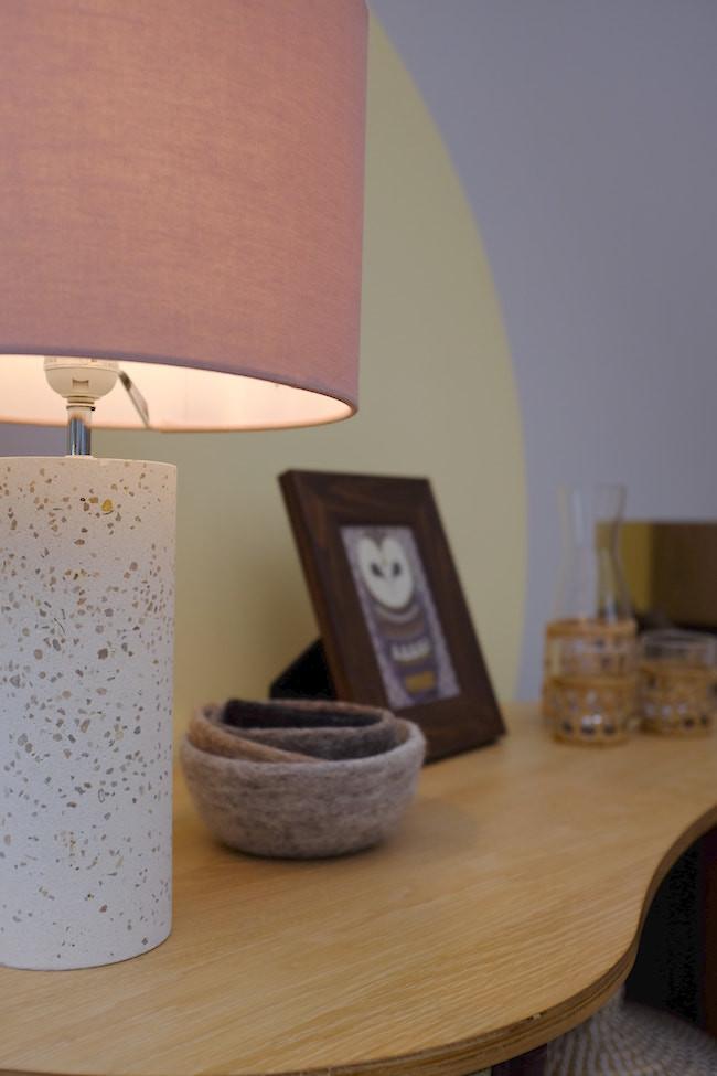 Terrazzo lamp accessory