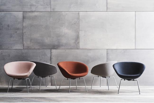 Pot Chair palette of contemporary Colours
