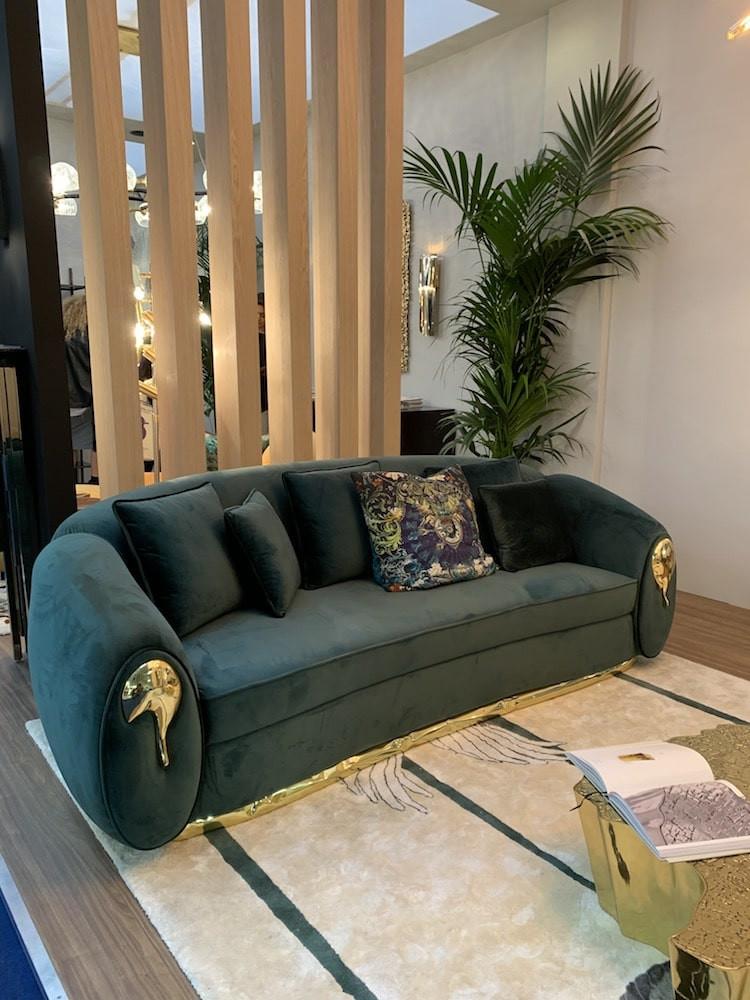 Covet house sofa at Decorex
